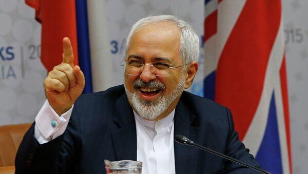 Mohamad Yavad Zarif, ministro de Exteriores de Irán - Sputnik Mundo