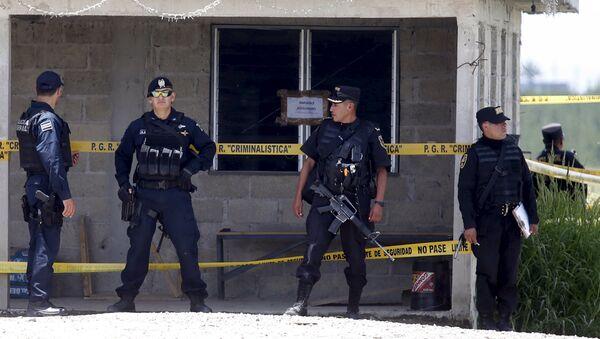 Policía de México - Sputnik Mundo