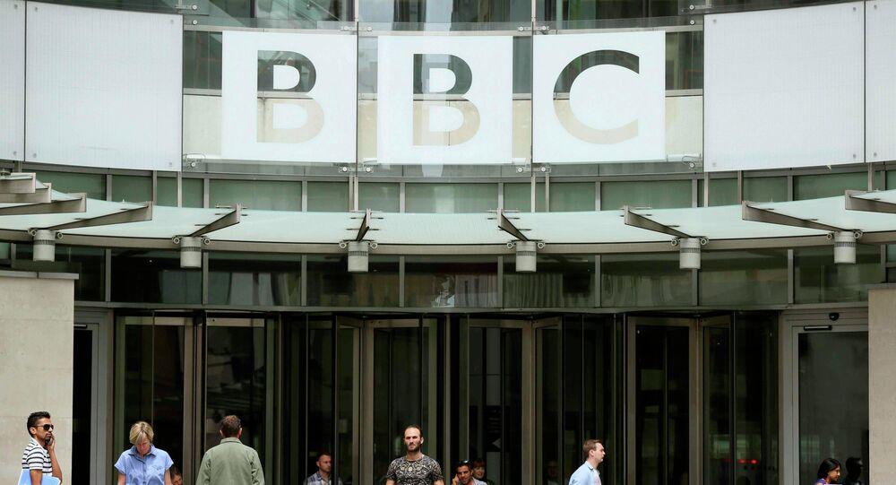La sede de la cadena británica BBC en Londres