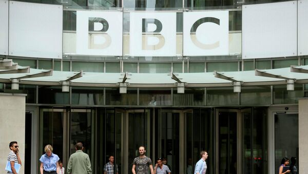 Broadcasting House, the headquarters of the BBC, in London Britain July 2, 2015 - Sputnik Mundo
