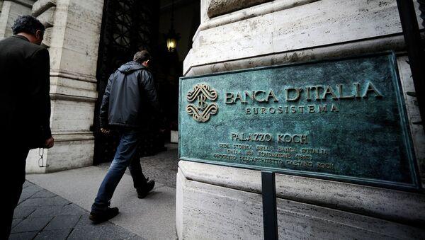 Banco de Italia en Roma - Sputnik Mundo