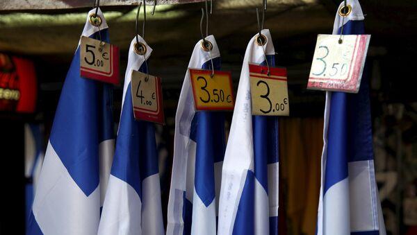 Banderas de Grecia - Sputnik Mundo