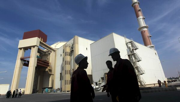 Planta de energía nuclear Bushehr  - Sputnik Mundo