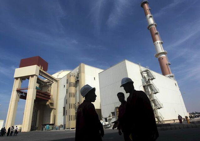 Planta nuclear de Bushehr en Irán (archivo)