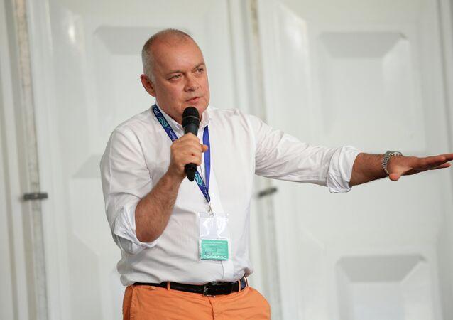 Dmitri Kiseliov, propio dirigente de Rossiya Segodnya