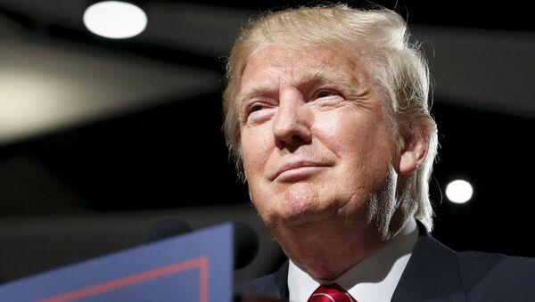 Donald Trump, candidato a las primarias republicanas de cara a las elecciones presidenciales de EEUU de 2016 - Sputnik Mundo