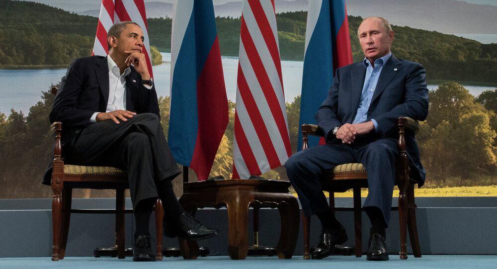 Barack Obama, presidente de EEUU, y Vladímir Putin, presidente de Rusia (Archivo)