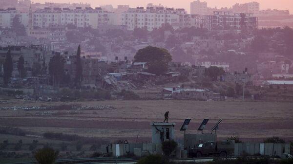 La frontera de Israel con Gaza - Sputnik Mundo