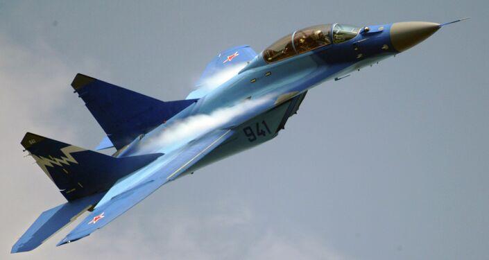 El avión ruso MiG-29