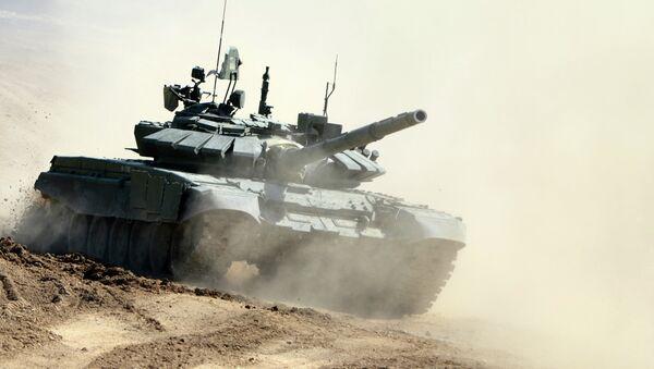 Tanque T-72B3 (archivo) - Sputnik Mundo