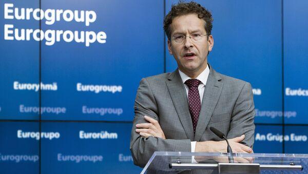 Jeroen Dijsselbloem, presidente de Eurogrupo - Sputnik Mundo