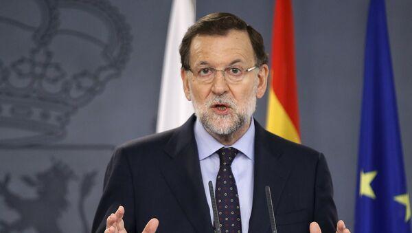 Mariano Rajoy, el presidente del Gobierno de España en funciones - Sputnik Mundo
