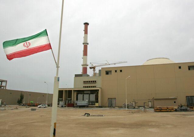 Central nuclear de Bushehr en Irán