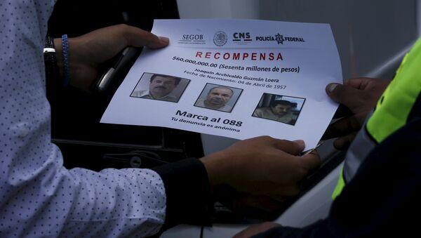 Reparten en México 100.000 folletos con fotos del Chapo Guzmán - Sputnik Mundo