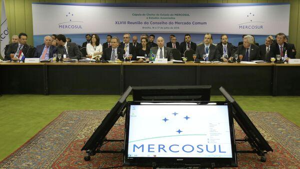 18ª Cumbre Social de Mercosur en Brasilia, 16 de julio - Sputnik Mundo