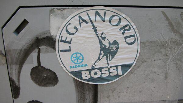 Logo de partido italiano la Liga Norte - Sputnik Mundo