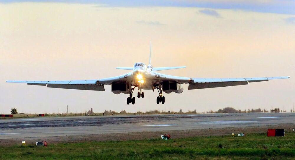 Bombardero estratégico Tu-160