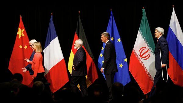 Participantes de las negociaciones sobre el programa nuclear iraní en Viena - Sputnik Mundo