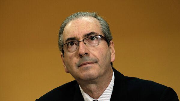 Eduardo Cunha, presidente del Congreso de los Diputados de Brasil - Sputnik Mundo