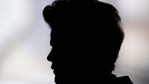 La presidenta de Brasil, Dilma Rousseff - Sputnik Mundo