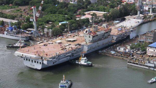 Portaavion de la clase Vikrant de la Armada India - Sputnik Mundo