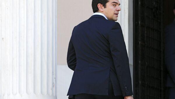 Alexis Tsipras, primer ministro griego - Sputnik Mundo