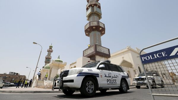 Policía saudí - Sputnik Mundo
