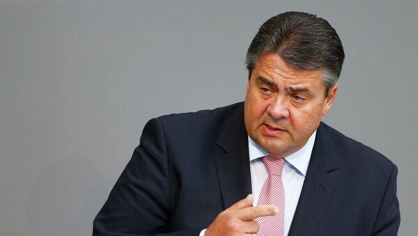 Sigmar Gabriel, vicecanciller y ministro de Economía de Alemania - Sputnik Mundo
