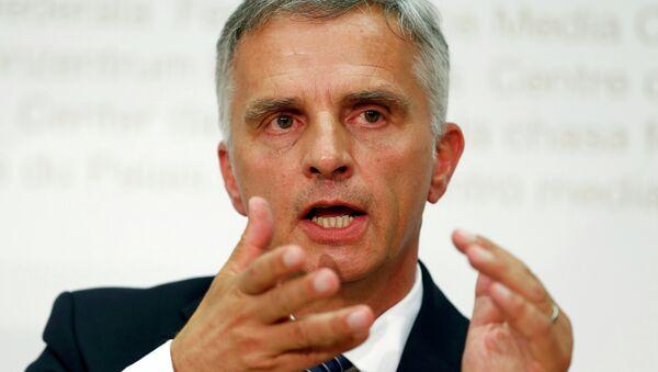 Didier Burkhalter, ministro de Asuntos Exteriores de Suiza - Sputnik Mundo