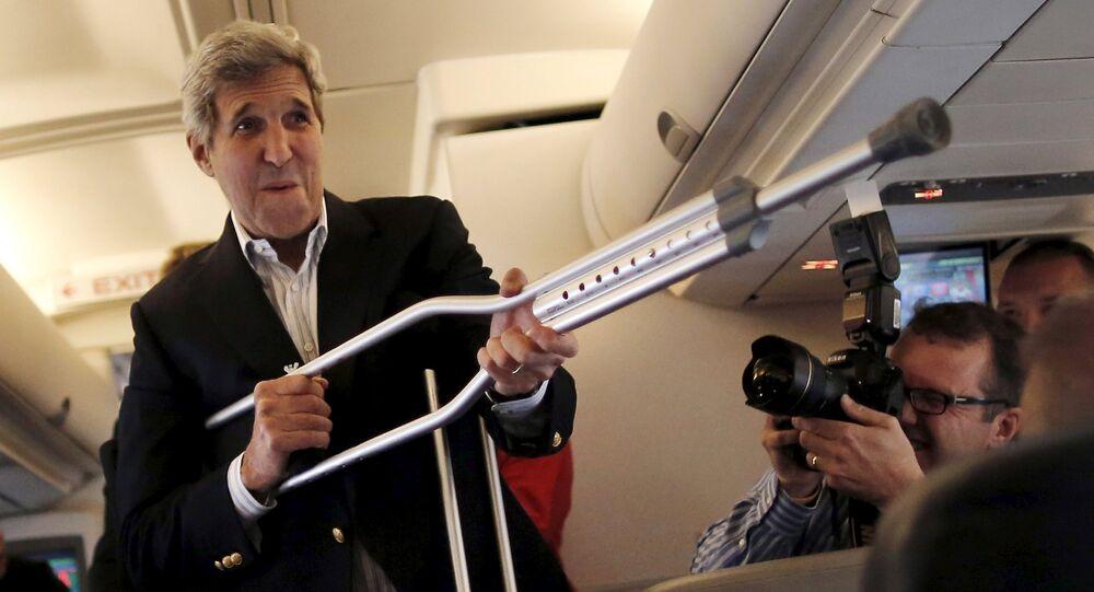 John Kerry, Secretario de Estado de EEUU, el 26 de junio, 2015