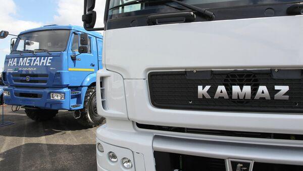 Camiones Kamaz (archivo) - Sputnik Mundo
