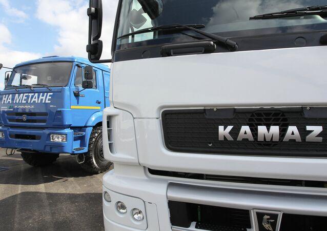 Camiones Kamaz (archivo)