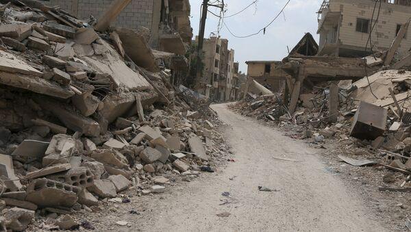 Situación en Damasco (Archivo) - Sputnik Mundo