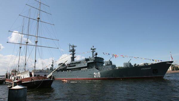 El buque escuela Smolny de la Armada rusa - Sputnik Mundo