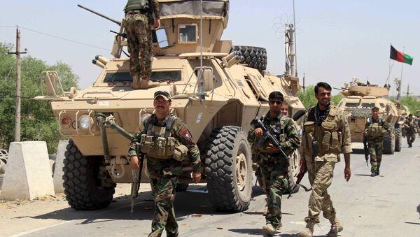 Fuerzas armadas de Afganistán, el 21 de junio, 2015 - Sputnik Mundo