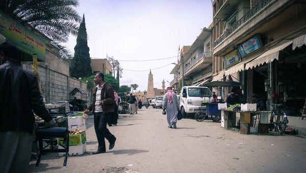 Ciudad siria de Al Raqa (archivo) - Sputnik Mundo