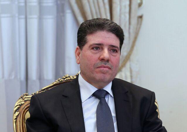 Wael al Halqi, primer ministro de Siria