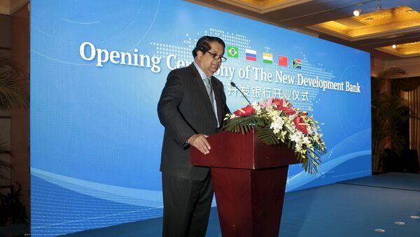 Kundapur Vaman Kamath, presidente de Banco de Desarrollo de los BRICS - Sputnik Mundo