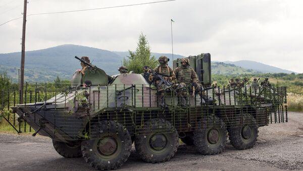 El Ejército de Ucrania retira las armas de Donbás - Sputnik Mundo