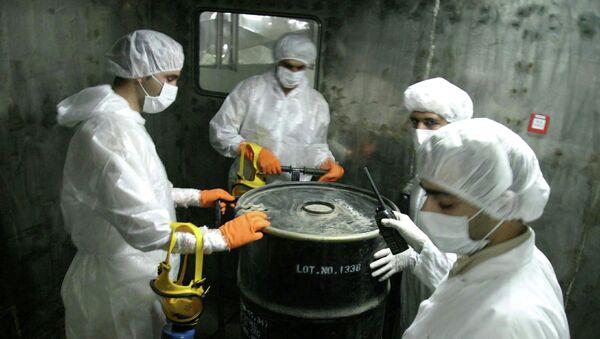 Una planta nuclear en Irán (archivo) - Sputnik Mundo