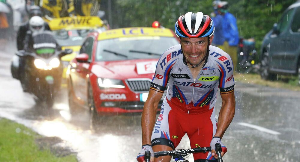 Joaquim Rodríguez, ciclista español