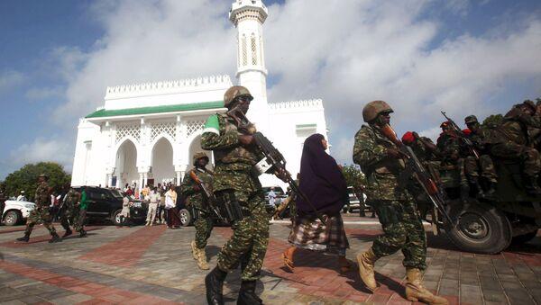 Militares de la Unión Africana en Somalia (archivo) - Sputnik Mundo