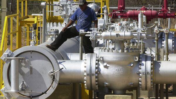 Estación Parapeti del control de gas natural en Bolivia (archivo) - Sputnik Mundo