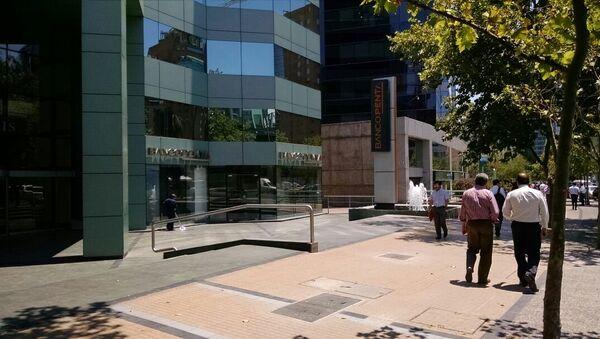 Banco Penta en Santiago, Chile. - Sputnik Mundo