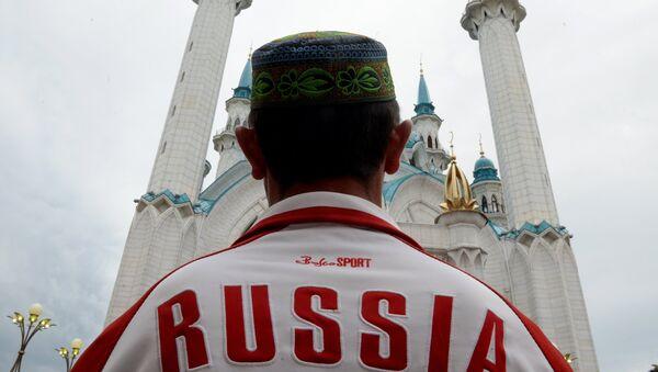 Сelebración de la festividad religiosa islámica Eid al-Fitr en Kazan - Sputnik Mundo