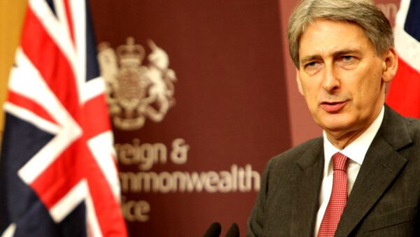 Philip Hammond, ministro de Exteriores del Reino Unido - Sputnik Mundo