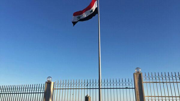Bandera de Siria - Sputnik Mundo