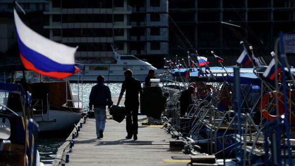 Ciudad de Balaklava, Crimea - Sputnik Mundo
