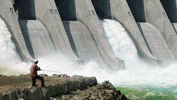 Сentral hidroeléctrica (archivo) - Sputnik Mundo