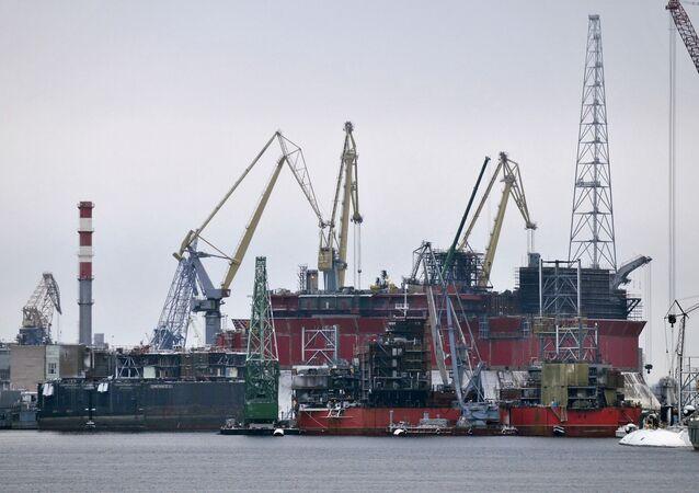 Centro ruso de reparaciones navales Zviózdochka